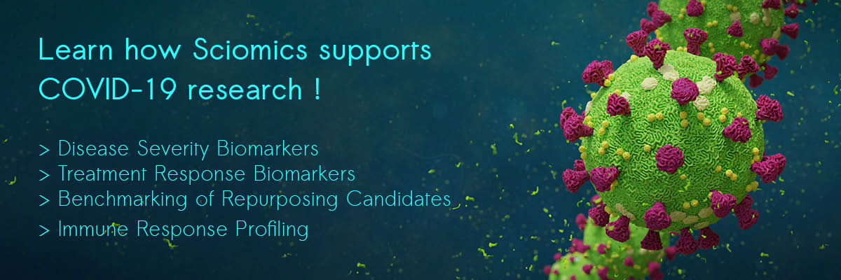 Learn how Sciomics supports COVID-19 research